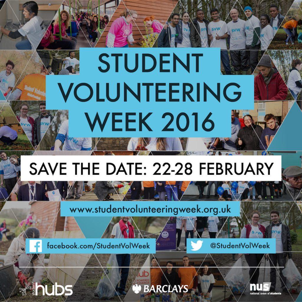 Student Volunteering Week - National Awareness Days Events ...