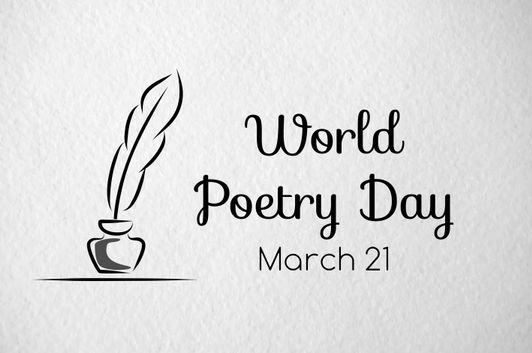 Image result for world poetry day 2020