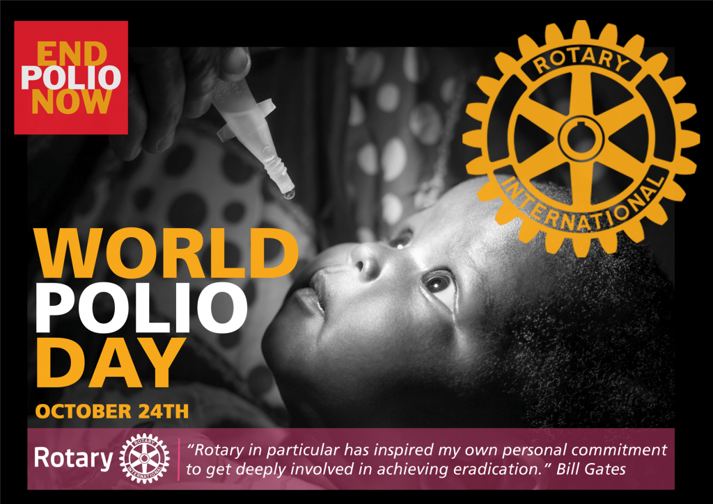 World Polio Day - 24 October