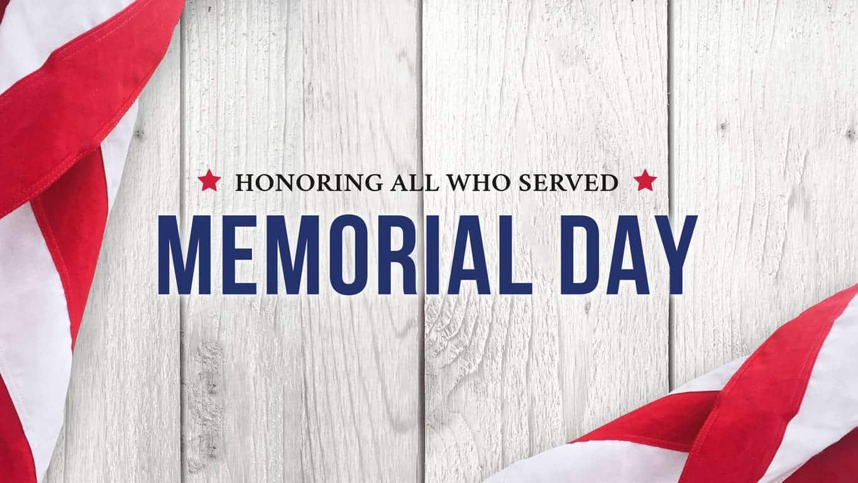 National Memorial Day in the USA 2021 - National Awareness Days Calendar  2021