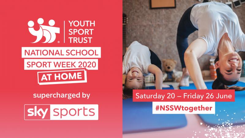 National School Sport Week   at home 2021   National Awareness